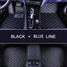 3D Car Floor Mats For Toyota RAV4 2019 2020 XA50 RAV 4 Venza Waterproof Leather Floor Mats Car-styling Interior Car Carpet Mat цена 2017
