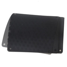 10Pcs 140x140mm Black PVC PC Fan Dust Filter Dustproof Case Computer Mesh Dust Covers For Computer Accessory Filter Mesh(China)