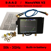 3G Vector Network Analyzer S-A-A-2 NanoVNA V2 Antenna Analyzer Shortwave HF VHF UHF with Housing Antenna Analyzer(China)