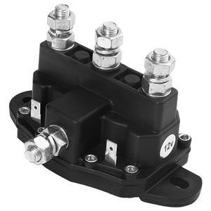Image 4 - Motor de cabrestante de 6 postes con relé, interruptor de solenoide de marcha atrás, antióxido y anticorrosión, económico y práctico para piezas de Interior de coche