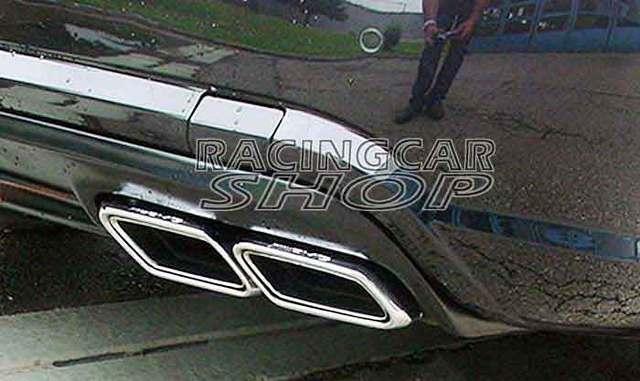 AMG Exhaust Tip For Mercedes Benz C-class E-class S-class W204 W212 W222 C207 E63 E300 E350 E500 R231 SL63 S63 C63 2013UP  M098W 4
