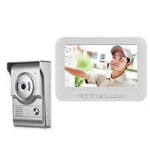 """Yobang безопасность """" дюймовый монитор видео дверной звонок Дверной телефон видеодомофон ночное видение 1 камера 1 монитор для домашней системы безопасности"""