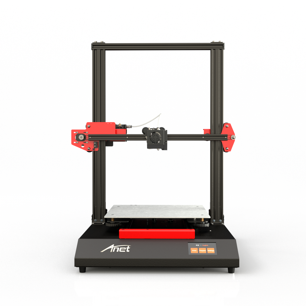 Anet ET5 DIY New Version 3D Printer High Precision Metal Frame Destop 300*300*400mm Size Hotbed With PLA Filament