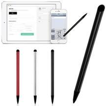 2020 2 em 1 capacitivo resistive caneta tela de toque stylus lápis para tablet ipad telefone celular pc capacitivo caneta nova