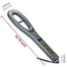 Профессиональный GC-101H металлодетекторы ручной Безопасности Bounty инструмент