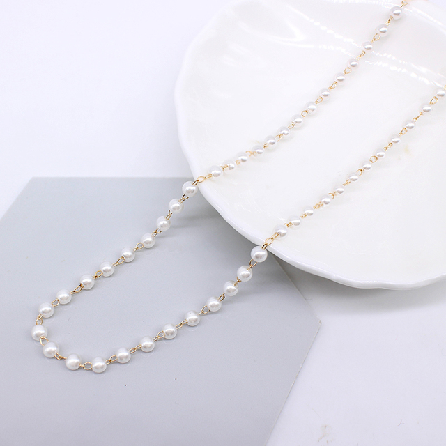 Pearl choker necklace or bracelet 4