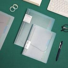 JIANWU-Carpeta de hojas sueltas A5 B5 para cuaderno, carpeta de hojas sueltas, núcleo interno de hojas sueltas para diario 2021, diario, suministros escolares