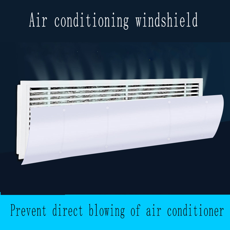 Side Hung Type Central Air Conditioning Windshield Safety Adjustable Wind Deflector Anti Direct Blowing Universal Baffle Bedroom To Rank First Among Similar Products