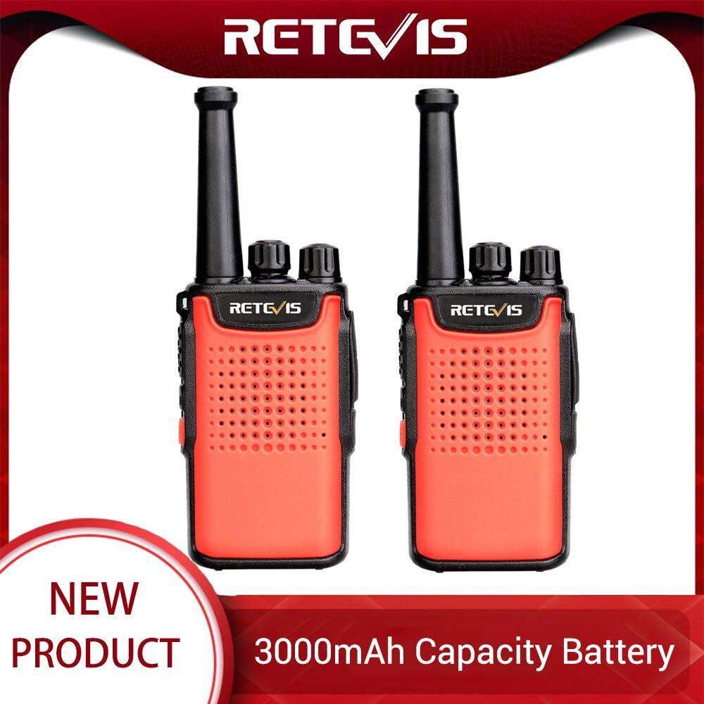 Retevis RT667 RT67 PMR Radio Walkie Talkie 2 Pcs 3000mAh PMR 446 VOX Non-magnetic Speaker Walkie-Talkies 2 Way Radio Comunicador