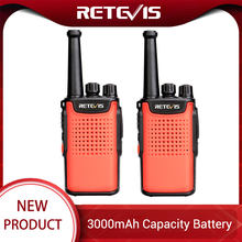 Retevis RT667 RT67 PMR Radio Walkie Talkie 2 pcs 3000mAh PMR 446 VOX Non-magnetic Speaker Walkie-Talkies 2 Way Radio Comunicador(China)