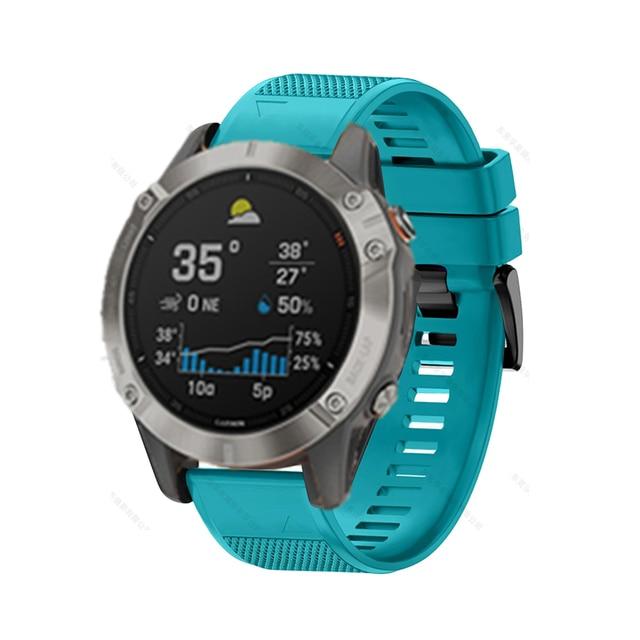 FIFATA Smart Watch Band Straps For Garmin Fenix 6 6S 6X 5X 5 5S 3 3HR Forerunner 935 945 Quick Release Strap Silicone Bracelet 3