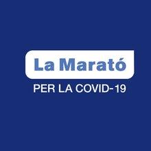 Parche de La Marato PARA La Covid-19, insignia de La Liga de fútbol, 2020