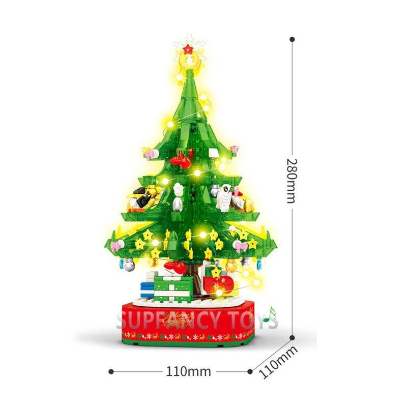 Купить 486 шт рождественская елка с музыкальной коробкой модель друзья
