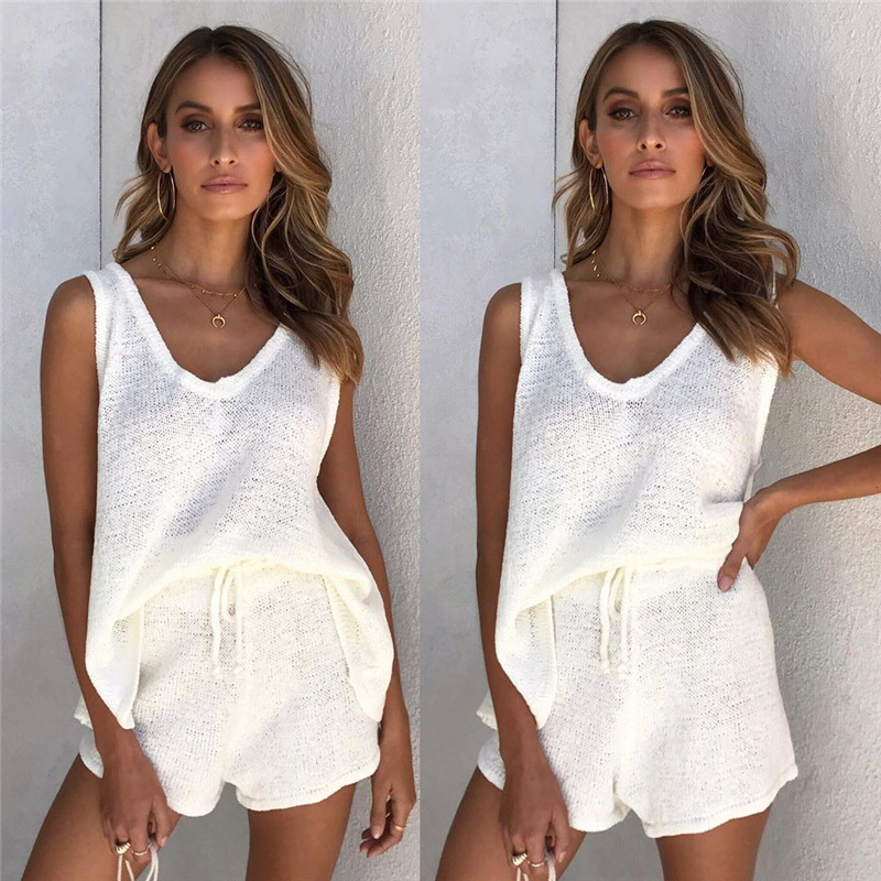 2 piece set women summer clothes two piece set women crop top shorts two piece sets female outfits sexy
