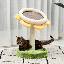 Scratching Post Tower Furniture Play-House Pet-Kitty Cat-Tree Platform Hammock Perches