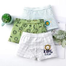 3pcs/lot Boy Cute Panties 2020 Fashion Underwear Children Natural Cotton Cheapest Panties Low Rise Underpants Teen Boys Boxers