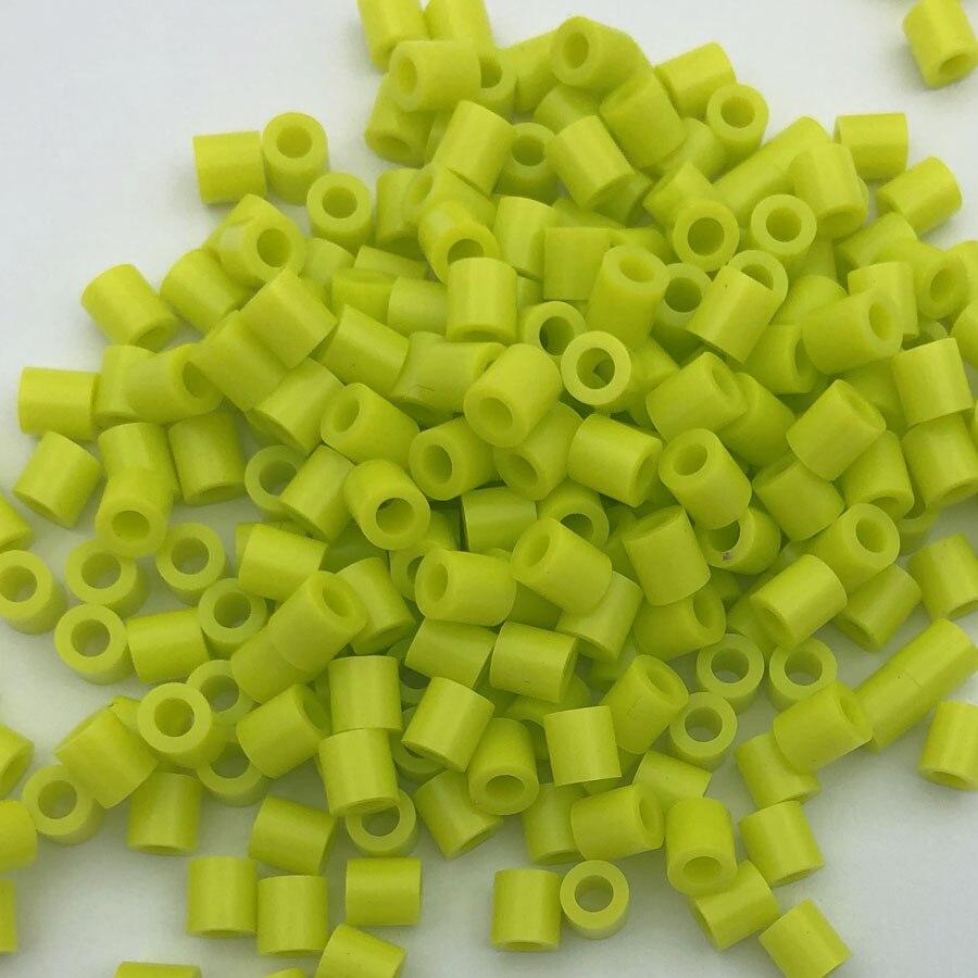 1000 pcs/Bag 5mm Hama Beads/ PUPUKOU Iron Beads KID FUN.Diy Intelligence Educational Toys Puzzles 31