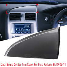 Embellecedor de tablero de coche, embellecedor Central triangular, unidad ICC para Ford Falcon BA BF 02 ~ 11, Panel Central, cubierta decorativa para salpicadero