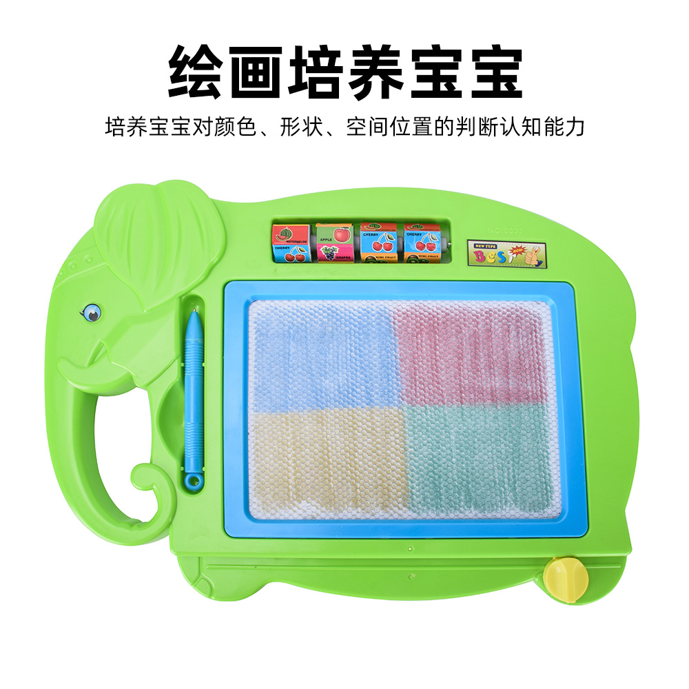 Color Magnetic Drawing Board Children Medium Painted Graffiti Writing Board Children Early Childhood Educational Toy
