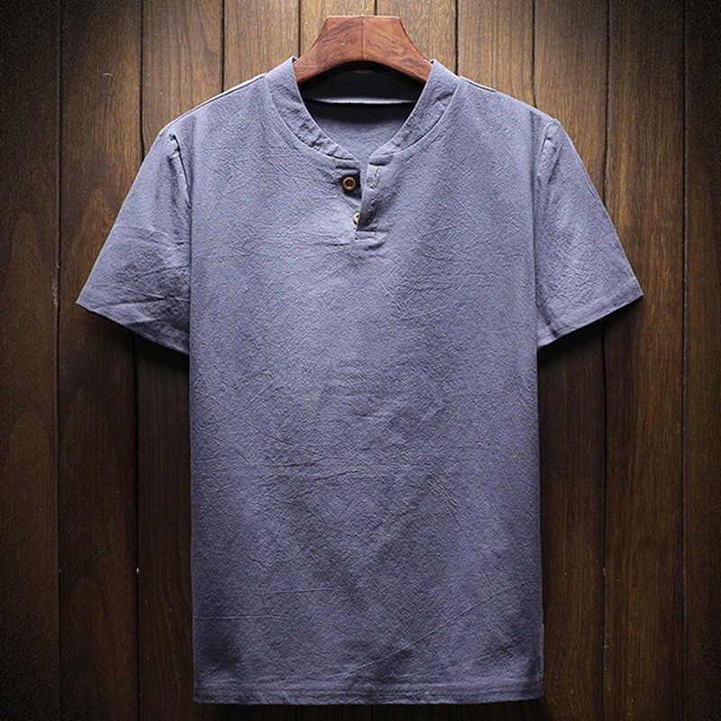 Camisa masculina casual verão plus size M-5XL estilo europeu e americano do vintage camisas de marca roupa masculina roupas 2020 b539