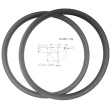 Bike Rim Mountain-Bike Carbon Aro 29 Tubeless 29er XC Mtb 30x25mm 390g 590mm Race ERD