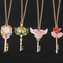 Ожерелье с подвеской «Сэйлор Мун» для женщин и девушек