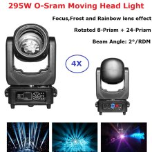 RDM 295W Professionele Moving Head Beam Spot Stage Light Music Party Verlichting Effect Dj Apparatuur Moving Head Beam licht(China)