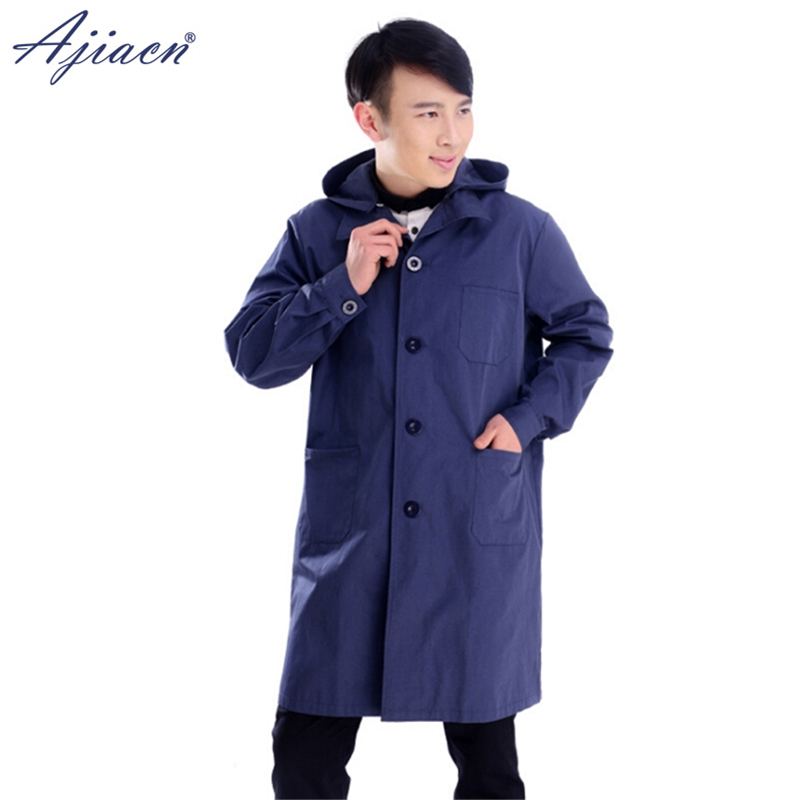 Genuine Electromagnetic Radiation Shielding Single Breasted Hooded Coat Mobile Phone, Computer, WIFI Anti-radiation Clothing