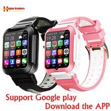 스마트 4G 원격 카메라 GPS 와이파이 어린이 어린이 학생 손목 시계 SOS 비디오 통화 Whatsapp 모니터 트래커 위치 전화 시계