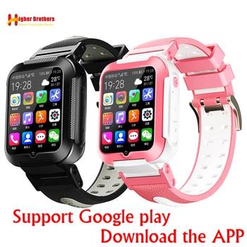 Smart 4G Remote Camera GPS WI-FI Kids Children Students Wristwatch SOS Video Call Whatsapp Monitor Tracker Location Phone Watch