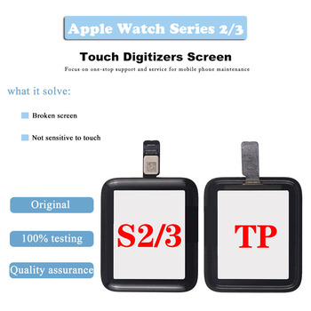 For Apple Watch Series 2/3 LCD Display Touch Screen Digitizer 38mm/42mm Pantalla Replacement For Apple Watch LCD+Tempered Glass image