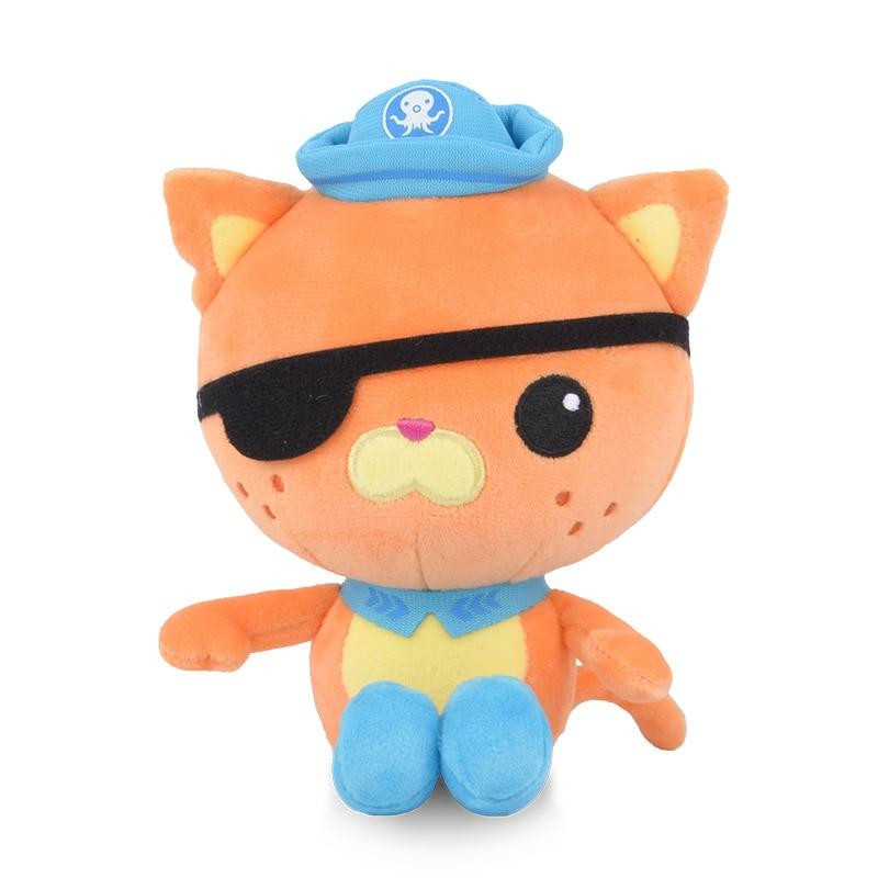 Original Octonauts 46cm/30cm/19cm Plush Toys Barnacles Peso Kwazii Tweak  Animal Stuffed Party Birthday Gift Kid Christmas Toy 5