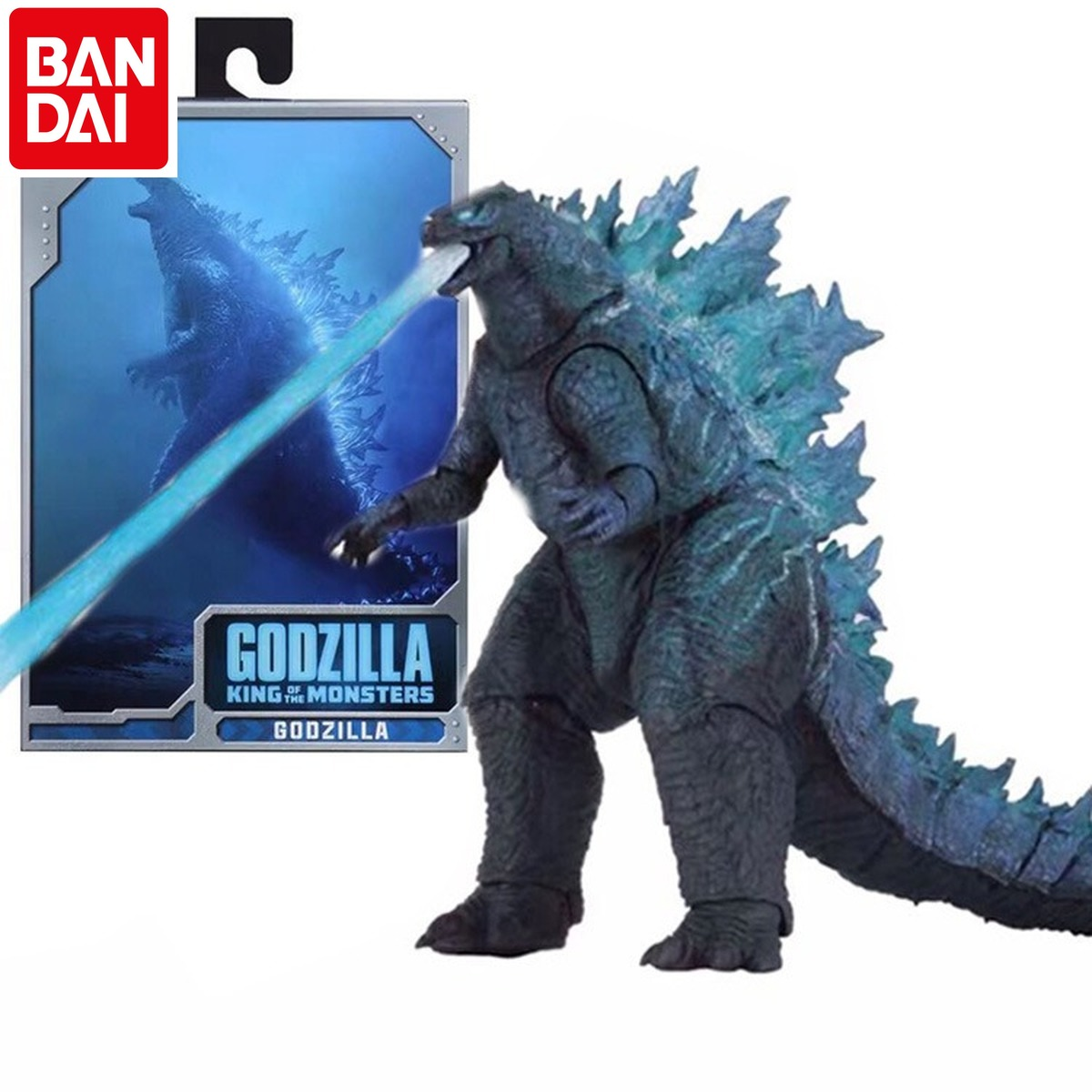 BANDAI Godzilla 2019 Movie Nuclear Power Injection Energy Version SHM Godzilla Monster Mobile Phone Model Hand To Do
