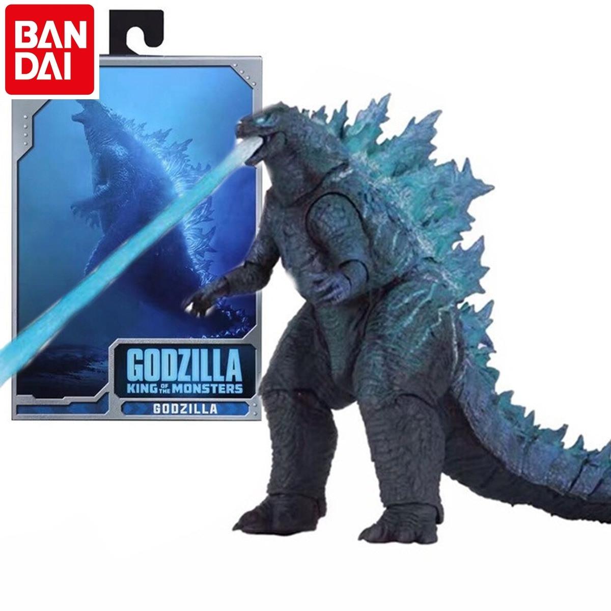 BANDAI Godzilla 2019 Movie Nuclear Power Injection Energy Version SHM Godzilla Monster Mobile Phone Model Hand To Do