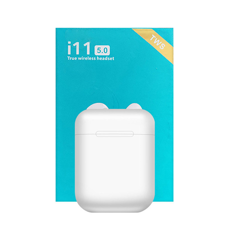 2019 new i11 <font><b>TWS</b></font> touch wireless Bluetooth 5.0 subwoofer headset pk i7 i13 i12 <font><b>i14</b></font> i10 <font><b>tws</b></font> for iPhone Android fone de ouvido image