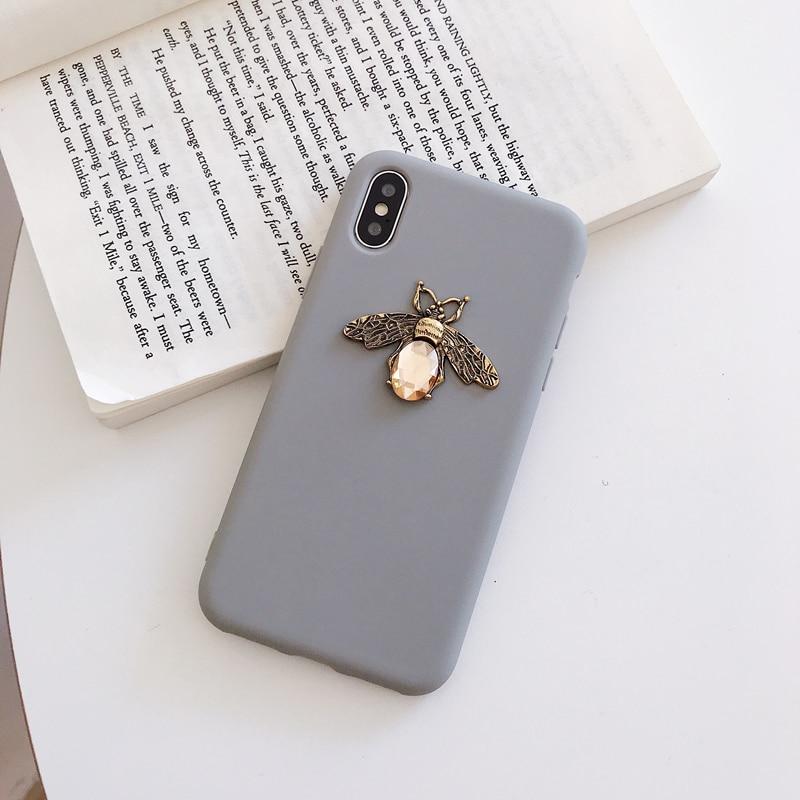 Diamond Bee Case for iPhone SE (2020) 45