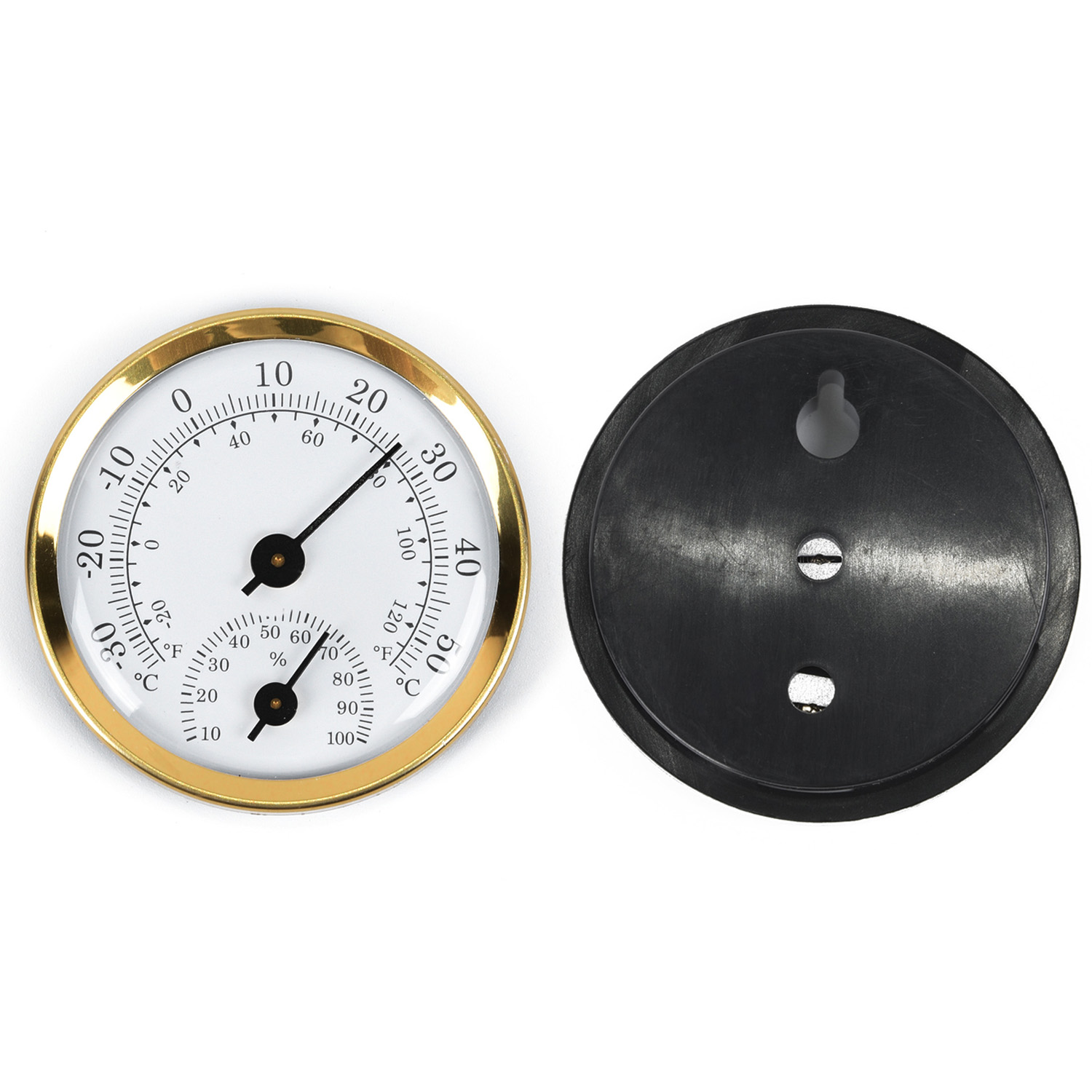 Analog Thermometer Hygrometer Temperature Humidity Indoor Outdoor Classic Design Home Garden Supplies