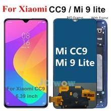 6.39 אינץ TFT LCD עבור שיאו mi Mi CC9 LCD תצוגת מסך מגע החלפות עצרת חלקים עבור שיאו mi Mi 9 לייט LCD M1904F3BG