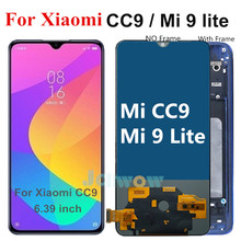 6.39 インチtft液晶xiaomi mi CC9 lcdディスプレイタッチスクリーンアセンブリ代替品xiaomi mi 9 lite液晶M1904F3BG