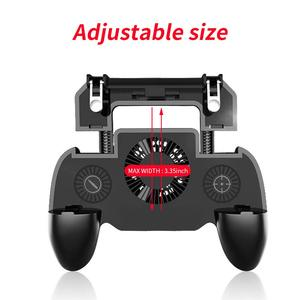 Image 3 - בקר gamepad ג ויסטיק R1 L1 Shooter joypad משחק pad Cooler מאוורר עם 2000/4000mAh כוח בנק l1r1 עבור טלפון אנדרואיד iphone