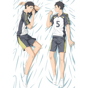 Anime Haikyu pillow Cover hinata shoyo Dakimakura case Sexy girl Cool Boy 3D Double-sided Bedding Hugging Body pillowcase HU02(China)