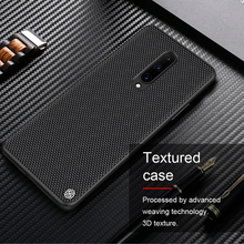 For OnePlus 8 Case NILLKIN Textured Nylon Fiber Case Thin and Light protector Back Cover For OnePlus 8 Pro Case