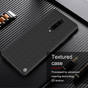 Image 1 - For OnePlus 8 Case NILLKIN Textured Nylon Fiber Case Thin and Light protector Back Cover For OnePlus 8 Pro Case