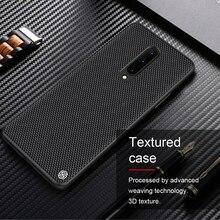 Voor Oneplus 8 Case Nillkin Geweven Nylon Fiber Case Dunne En Licht Protector Back Cover Voor Oneplus 8 Pro Case