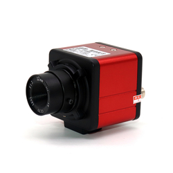 High Definition BNC Camera CCD1200 Line Color Industrial Camera Camera Q9 Interface Visual Detection Lens