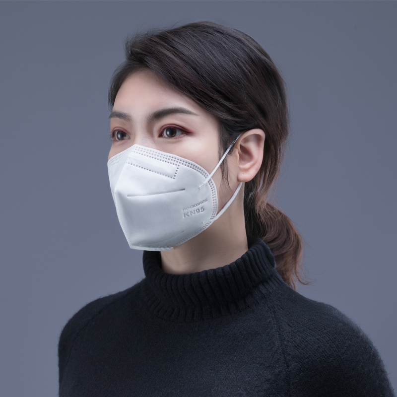 ROCKBROS Cycling Face Mask Filter Men Women Anit-fog Breathable Facemask Bicycle Respirator KN95 Mask Sport Protection Dust Mask