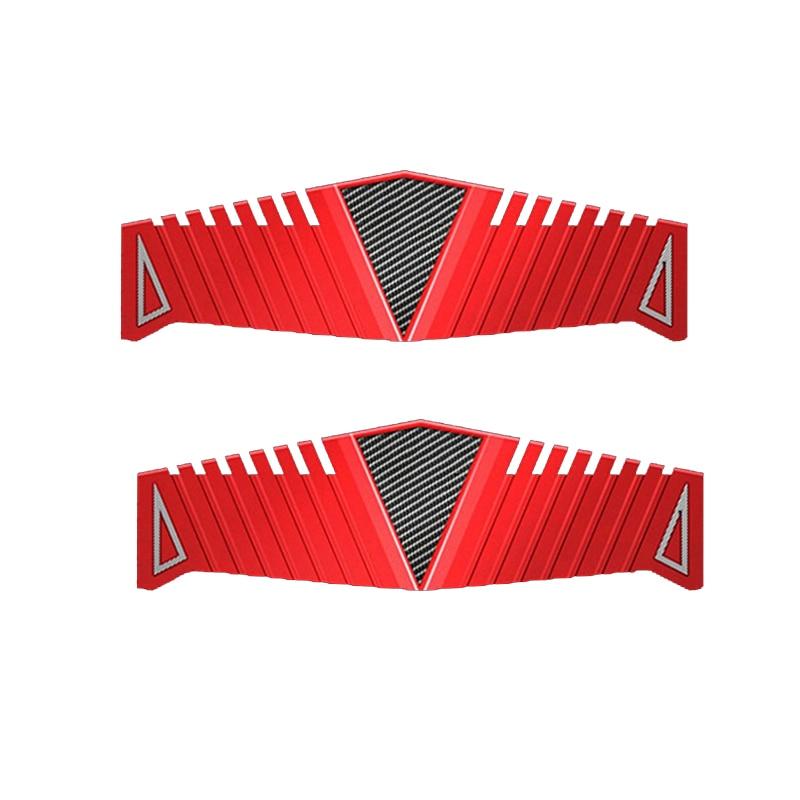 DDR2 DDR3 DDR4 RAM Heatsink Radiator Cooler Cooling Heat Sink 40x126mm For Desktop Memory Red Heat Dissipation Pad