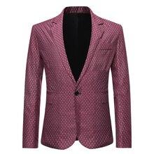 Качество 2020 Марка мужчины блейзеры мужские смокинги официальных мероприятиях пальто бизнес мода тонкий одна кнопка блейзер пиджак мужской