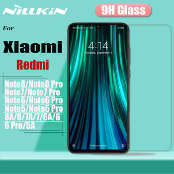 Redmi Note 8T 8 7S 7 Pro Tempered Glass Screen Protector Nillkin 9H Hard Safety Protective Glass for Xiaomi Redmi 8A 8 7A 7 5A