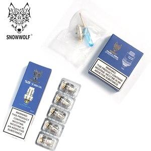 Głowica wymienna Snowwolf TAZE 0.3ohm 0.6ohm RBA cewki do zestawu Mini Pod Snowwolf P40/zestaw Pod Snowwolf P50